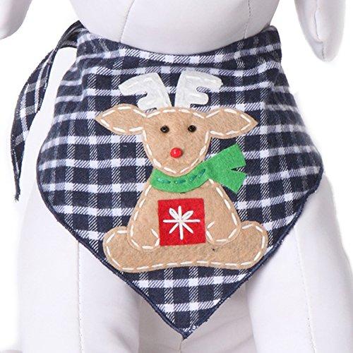 Tail Trends Christmas Dog Bandanas Gifting Rudolph Designer Appliques 100% Cotton