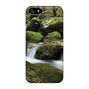 Case For Sam Sung Note 3 Cover s - Slim Fit Protector Shock Absorbent Cases (mossy Rocks)