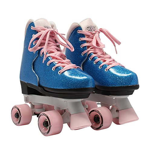 Circle Society Classic Adjustable Indoor and Outdoor Childrens Roller Skates
