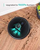 eufy [BoostIQ RoboVac 12, Upgraded, Super-Thin, 1500Pa Strong Suction, Quiet, Self-Charging Robotic Vacuum Cleaner, Cleans Hard Floors to Medium-Pile Carpets