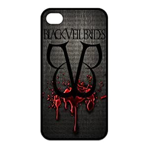 Danny Store 2015 New Arrival Protective Rubber Cover Case for iPhone 4,iPhone 4s Cases - BVB Black Veil Brides