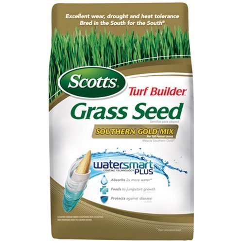 Scotts Turf Builder Grass Seed - Southern Gold Mix for Tall Fescue Lawns, 7-Pound (Sold in select Southern states) by Scotts