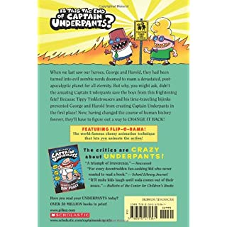 Captain Underpants and the Revolting Revenge of the Radioactive Robo-Boxers (Captain Underpants #10) (10)