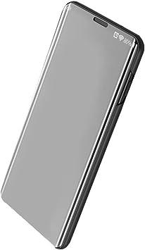 Funda para Samsung Galaxy A70 Carcasa Espejo Mirror Flip Caso ...