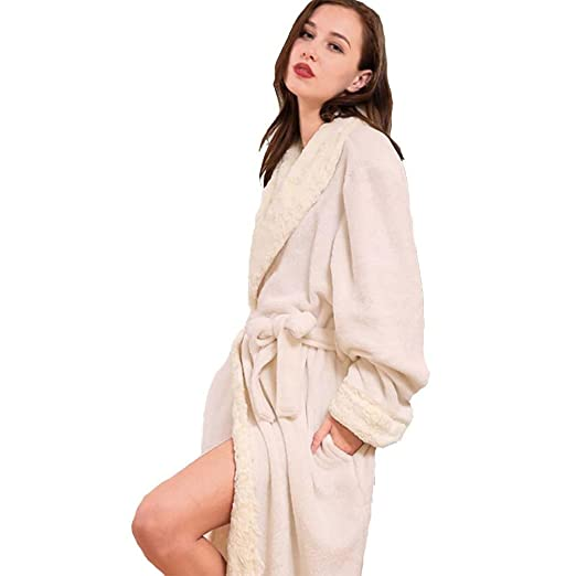 moxin Mens Fleece Robe ad56f60c4