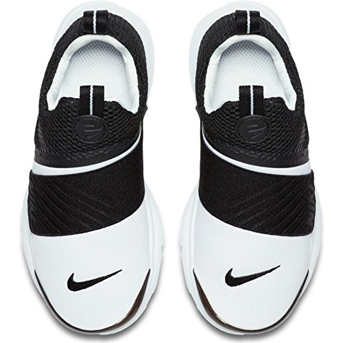 Nike Presto Extreme (PS) Pre School Boys Fashion Sneakers White/Black 870023-100 (1 M US) by Nike (Image #2)