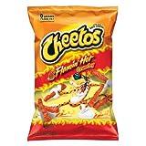 Cheetos Crunchy Flamin' Hot, 3.75oz Bags (Pack of 28)