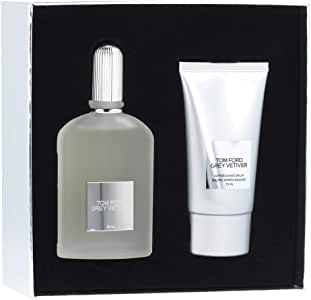 Grey Vetiver by Tom Ford Eau de Parfum Spray 50ml & Aftershave Balm 75ml