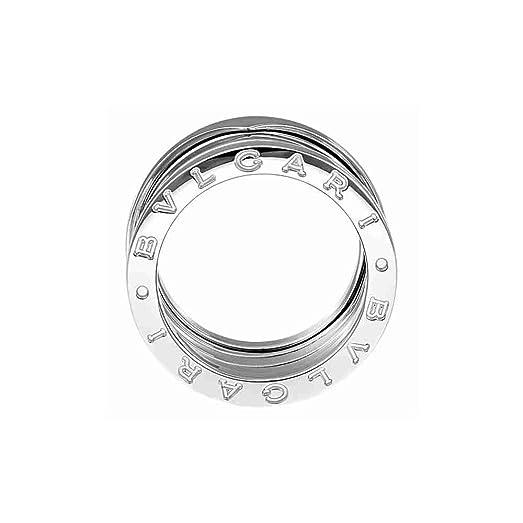 bvlgari bzero1 4band 18k white gold ring an191026
