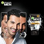 Garnier Men Turbo Bright Double Action Charcoal Facewash, 150g