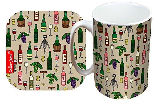 mited Edition Designer Mug and Coaster Gift Set ()