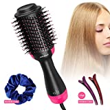 One Step Hair Dryer & Volumizer, Admitrack Hot Air Brush 3-IN-1...