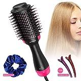 One Step Hair Dryer & Volumizer, Admitrack Hot Air Brush 3-IN-1...