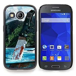 SKCASE Center / Funda Carcasa protectora - Muy lejos;;;;;;;; - Samsung Galaxy Ace Style LTE/ G357