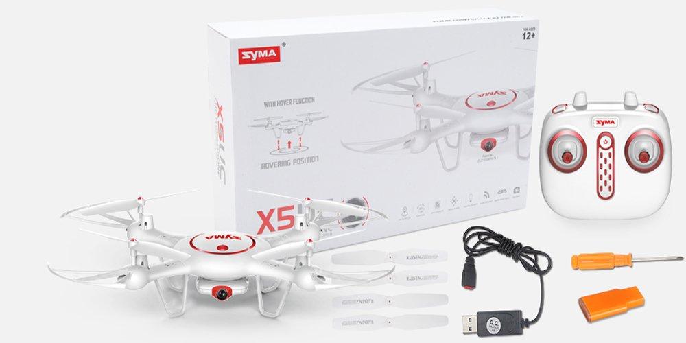 Syma X5UC Dron 4CH 2.4G Mando Distancia Cuadricóptero 6-ejes Gyro ...