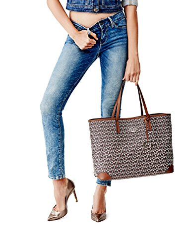 GUESS G Cube G-Tote Mocca