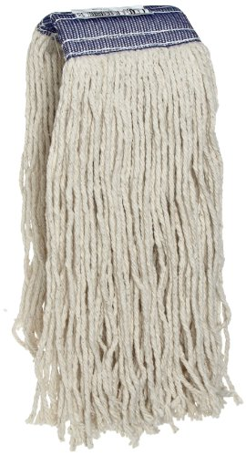 Rubbermaid Commercial FGF15700WH00 Premium Cut-End Cotton Mop, 20-ounce, 5-inch Headband by Rubbermaid Commercial Products