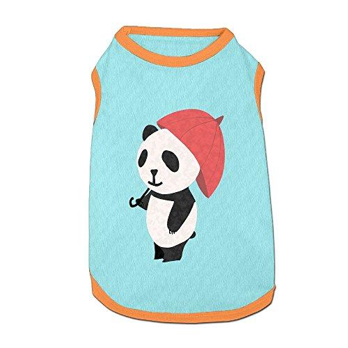 (Dog T-Shirt Clothes Panda Doggy Puppy Tank Top Pet Cat Coats Outfit Jumpsuit)