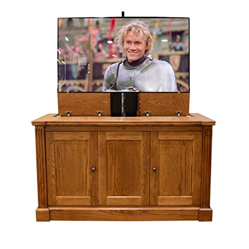 Jefferson Cabinet - Pop Up TV Lift - Handcrafted Jefferson TV Lift Cabinet - Economy System (50