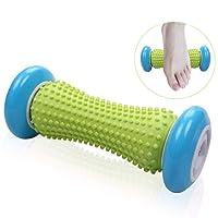 Fußmassagegerät Fußroller, Kleine Faszien-Rolle Fuß Massage Roller Entlastung von Schmerzen und Verspannungen, Muscle Roller Stick