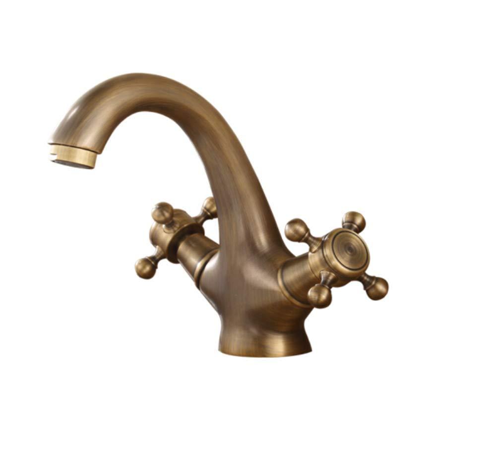 Edelstahl Einhand Mischer Einhebel Bronze Alle Kupferbecken Mischwasserhahn Doppelt Kontrolle Heißes Und Kaltes Wasser