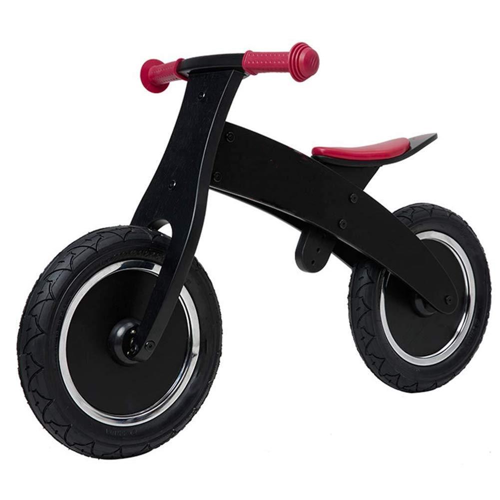 Hejok Bicicleta De Equilibrio para NiñOs, Bicicleta De Equilibrio Bicicleta De Equilibrio Ajustable negro para NiñOs De 2 A 4 AñOs NiñOs PequeñOs NiñOs 3 Ruedas NiñOs