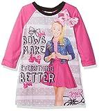 Nickelodeon Big Girls' JoJo Nightgown, Fuchsia, 8