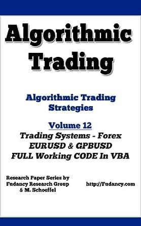 Forex algo trading strategies