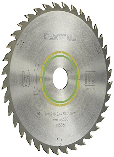 Festool 495380 Universal Blade For TS 75 Plunge Cut Saw - 36 Tooth (Festool Circular Plunge Cut Saw)
