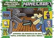 Minecraft - Prancheta Para Colorir - Supersérie