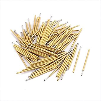 eDealMax 100pcs P048-E 0, 5 mm Diámetro 12, 5 mm Longitud de la ...