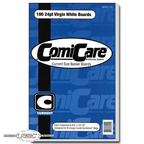 ComiCare Current Comic Book Backing Boards 6-3/4