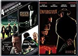 Clint Eastwood 4 Film Favorites Unforgiven Western + Trouble with the Curve, Gran Torino, J. Edgar, Invictus Feature movie set