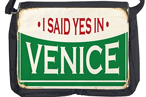 Borsa Tracolla Viaggi Cucina Italia Venezia Stampato