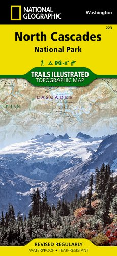 North Cascades National Park (National Geographic Trails Illustrated Map)