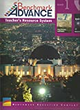 img - for Benchmark Advance, Teacher Resource System, California Edition, Grade 1, Unit 7 (Past, Present, and Future) & Unit 8 (Observing the Sky) (2017) book / textbook / text book