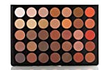 The Beauty Box Artist Eyeshadow Palette- 35 COLORS (Volcanic Collection)