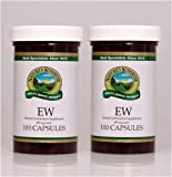 Naturessunshine EW Support Optimal Eye Health Herbal Dietary Supplement 100 Capsules (Pack of 2)