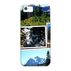 Sanp On Cases Covers Protector For Iphone 5c (pacific Northwest Collage)