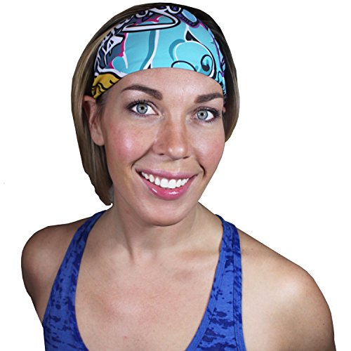 WodBottom Unisex Sports Headband - Graffiti