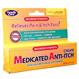 Family Care Medicated Anti-itch Cream 0.5 OZ (GOLD BOND), Case of 24