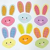 kidsroom design ideas Design Ideas GelGems Easter Themed Gel Window Clings (Bunny Mixup, Small Bag)