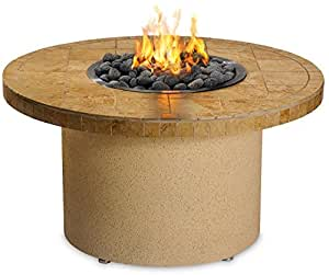 Sedona by lynx sandalwood circular gas fire for Amazon prime fire pit