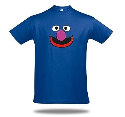 a7d418a8a5 Grobi T-Shirt Elmo Cookiemonster Krümelmonster Grover Funshirt ...