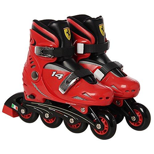 Ferrari Kids Skate Combo Set,red,size 33-36