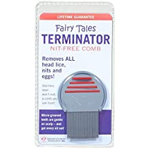 Fairy Tales Terminator Lice and Nit Comb, 2-Ounce (Colors May Vary)
