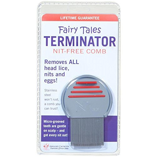 Fairy Tales Terminator Lice and Nit Comb (Color may vary) ()