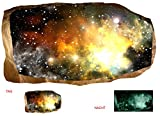 Startonight 3D Mural Wall Art Photo Decor Faraway Galaxy Amazing Dual View Surprise Large Wall Mural Wallpaper for Living Room or Bedroom Space Collection Wall Art 120 x 220 cm