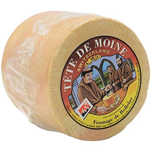 Mondo Head (Mondo Market Tete de Moine, AOC - Approximately 2 Pounds (Case of 4))