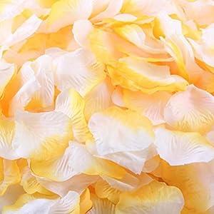 Sandistore 1000pcs Silk Rose Artificial Petals Wedding Party Flower Favors Decor 35